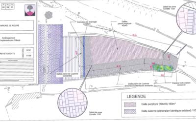 Info Projet Mai 2015: Aménagement de l'esplanade du Tilleul