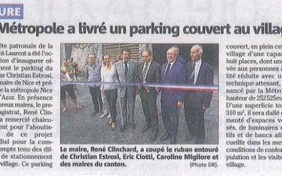 Info Travaux Août: La métropole a livré le parking du Tilleul