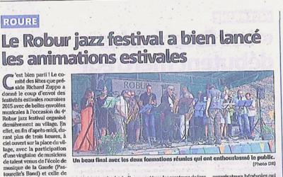 Le Robur jazz festival a bien lancé les animations estivales